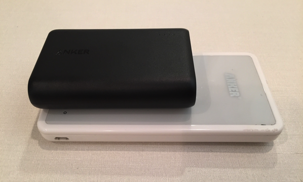 Anker powercoreとE3を比較1