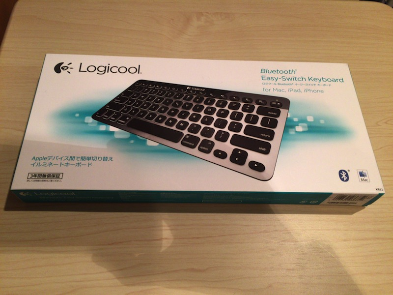 ロジクール Bluetooth Easy-Switch Keyboard K811 1