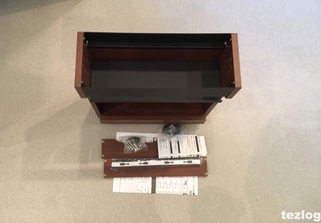 ケーブルボックス タップ・ルーター収納ボックス 開封