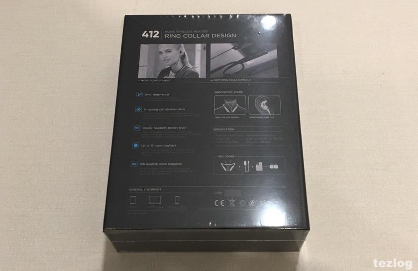 bluetooth イヤフォン JPRiDE 412 パッケージ
