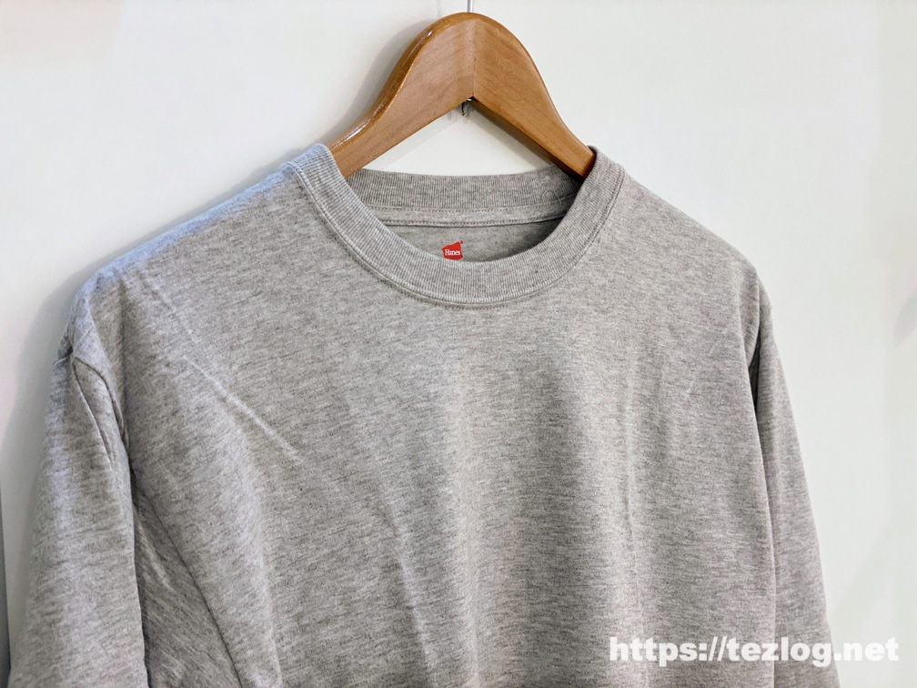 HANES BEEFY-T ロングTシャツ