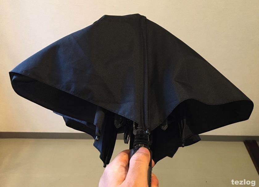 knirps 折りたたみ傘 TS.220 セーフティシャフト機能1