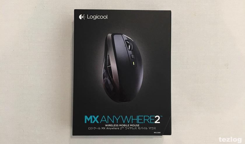 logicool MX1500 MXAnywhere2 ワイヤレスモバイルマウス パッケージ