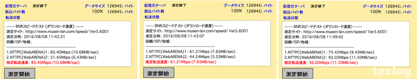 11ac対応ルーター PA-WG2200HP 変更後