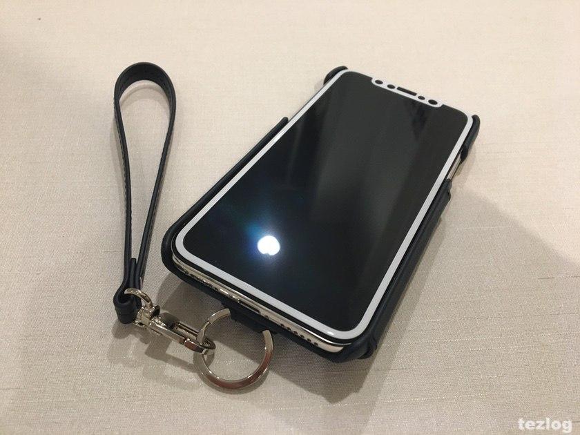 iPhoneXケース RAKUNI