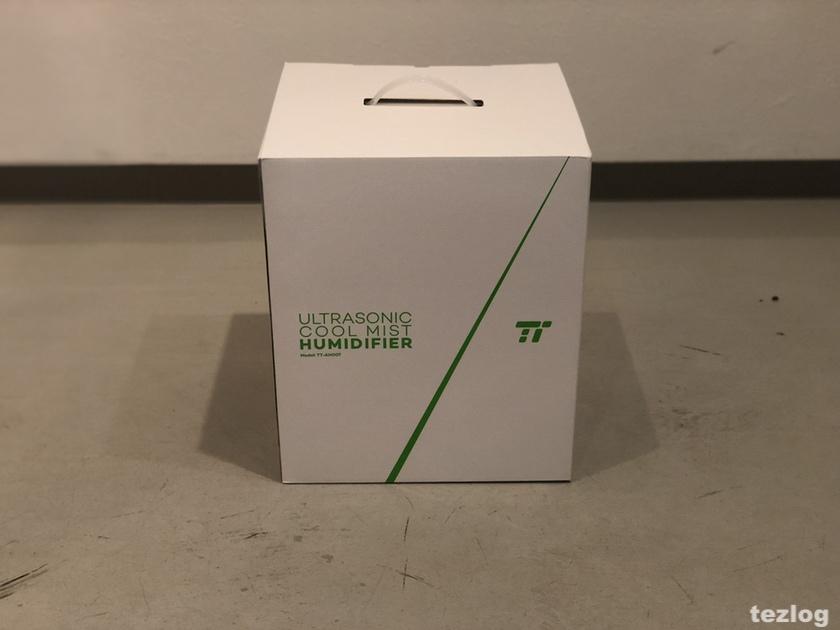 TaoTronics 加湿器 tt-ah007 パッケージ