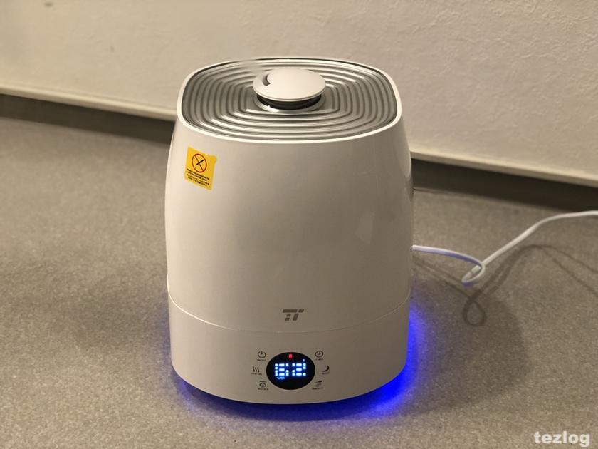 TaoTronics 加湿器 tt-ah007 ミスト3で使用中の画像