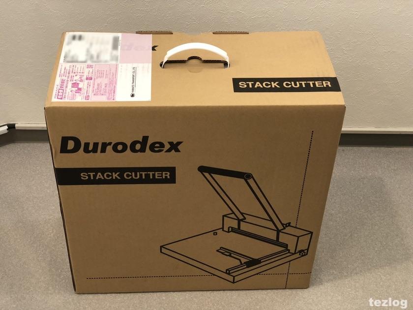 Durodex 裁断機 200DX カートン
