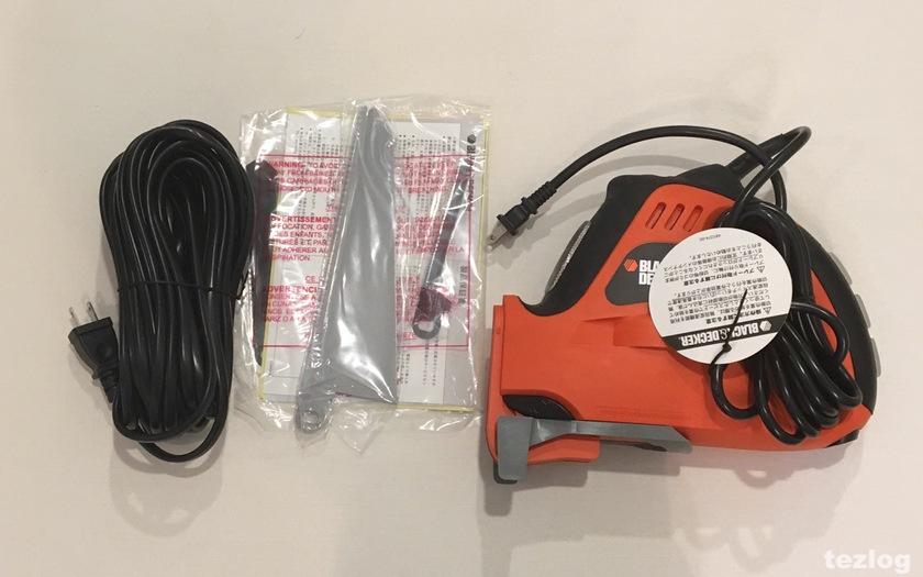 BLACK&DECKER(ブラックアンドデッカー) 電動式ノコギリ・ジグソー KS900G 付属品一式