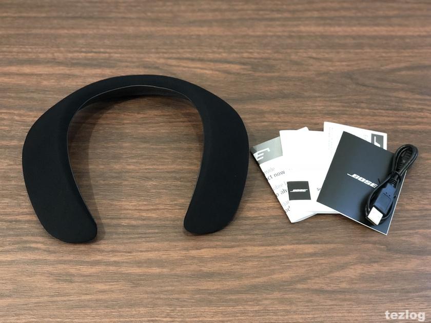 Bose ウェアラブルスピーカー SoundWear Companion 本体と付属品