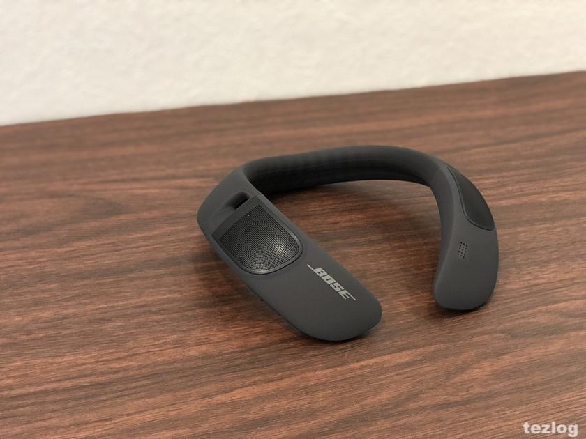 Bose ウェアラブルスピーカー SoundWear Companion カバーを外した本体