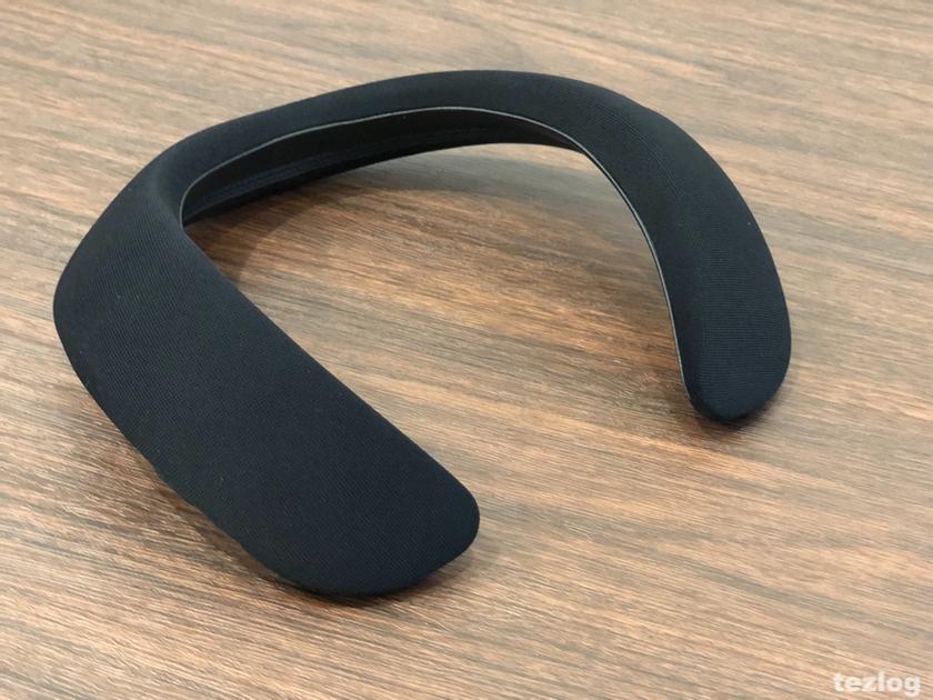 Bose ウェアラブルスピーカー SoundWear Companion 本体とカバーブラック