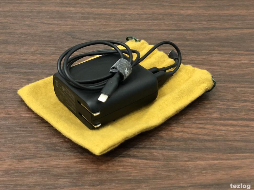 Anker PowerCore Fusion 5000mAh モバイルバッテリー搭載 USB急速充電器