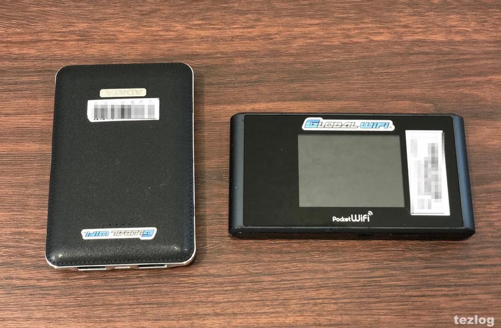 Wifiレンタルどっとこむでレンタルして届いたWi-FiルーターSoftbank 303ZTと無料のモバイルバッテリー