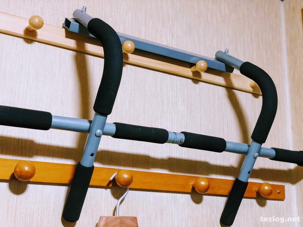 自宅で懸垂 アイアンジム 懸垂バー