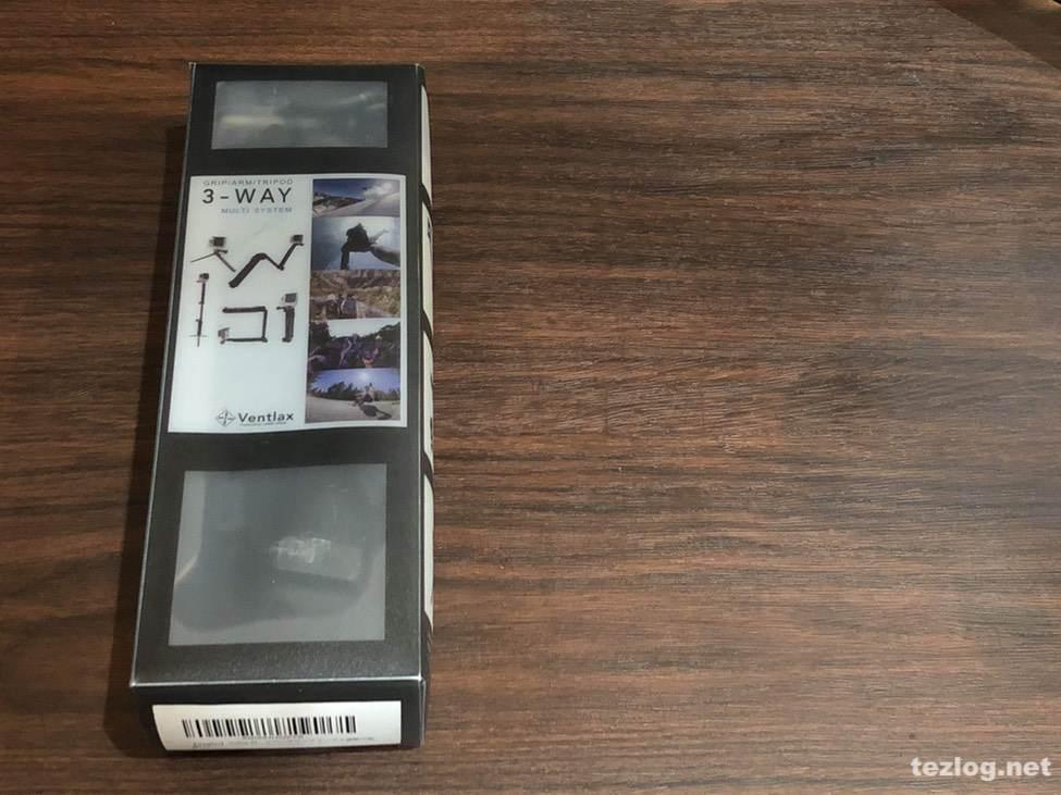 GoPro Hero6 Ventlax 3Way 自撮り棒