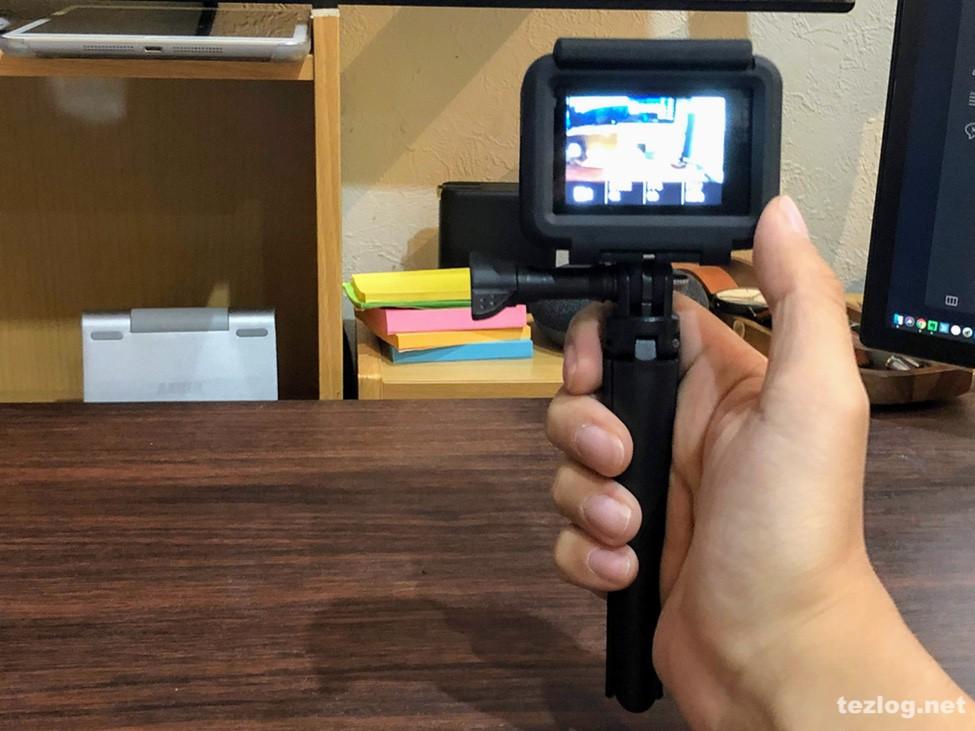 GoPro Hero6 Ventlax 3Way ハンディグリップ
