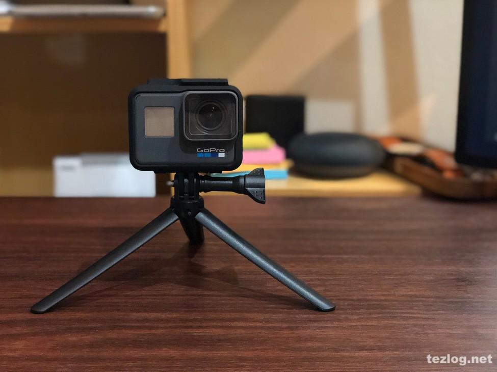 GoPro Hero6 Ventlax 3Way 3脚