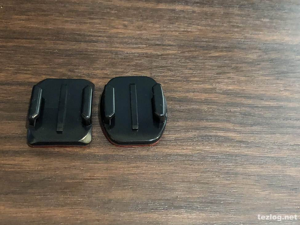 GoPro HERO6 ベースマウント平面用と曲面用