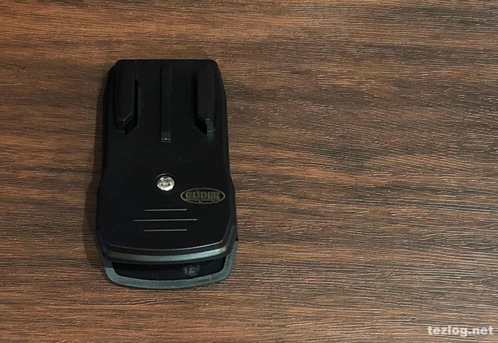 GLIDER GoPro Hero6用マウント付きクリップ