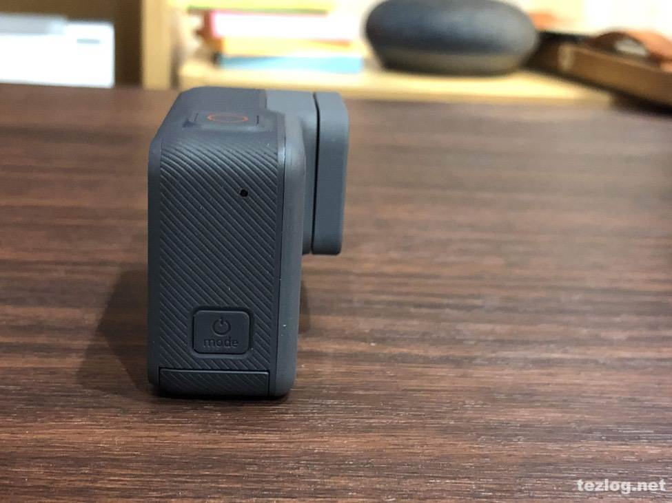 GoPro Hero6電源ボタン
