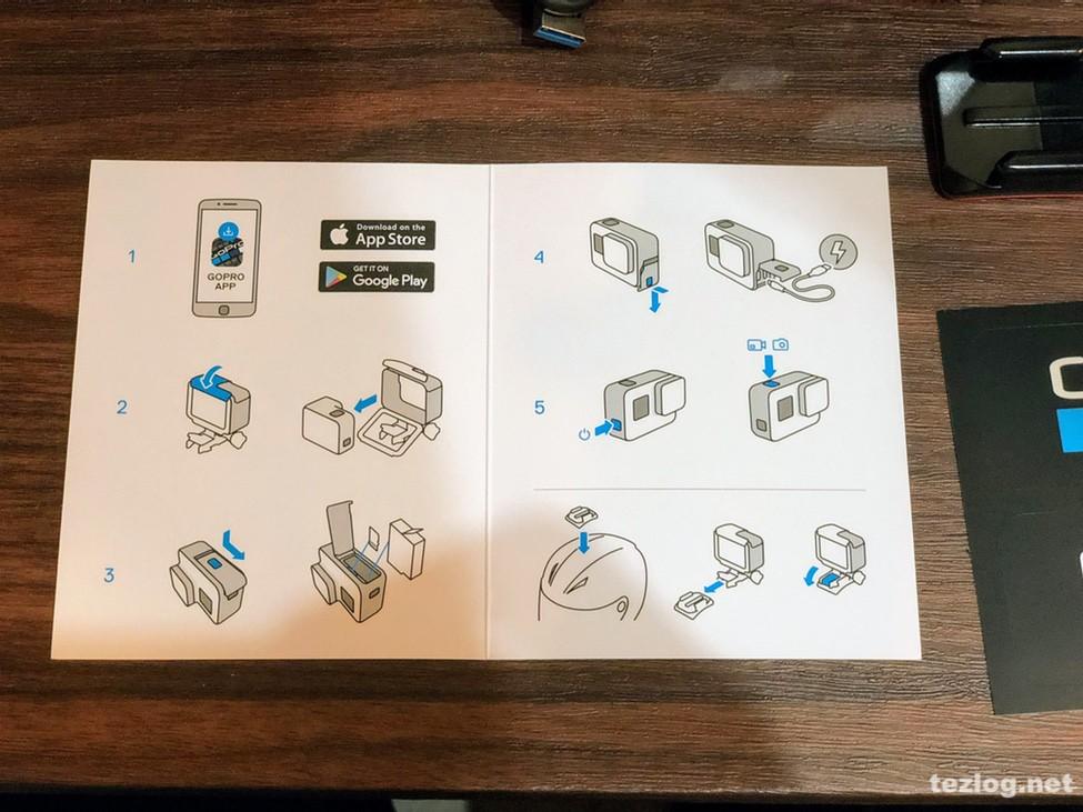 GoPro Hero6 使い方