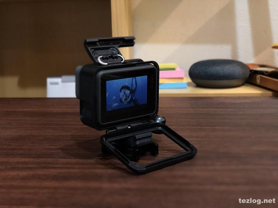GoPro Hero6 フレームの開け方