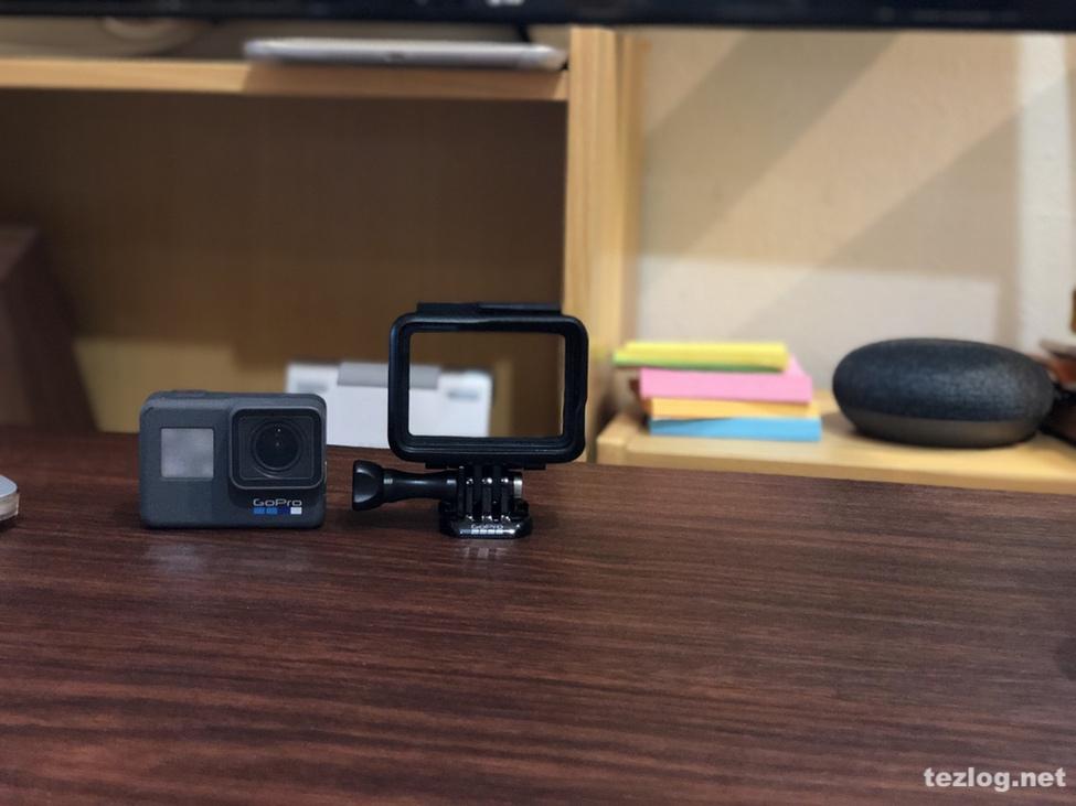 GoPro Hero6と付属のフレーム