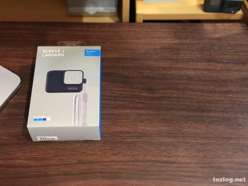GoPro スリーブ+ランヤード ブラック ACSST-001 パッケージ