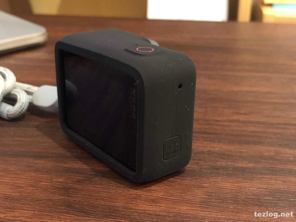 GoPro スリーブ+ランヤード ブラック ACSST-001 使用風景