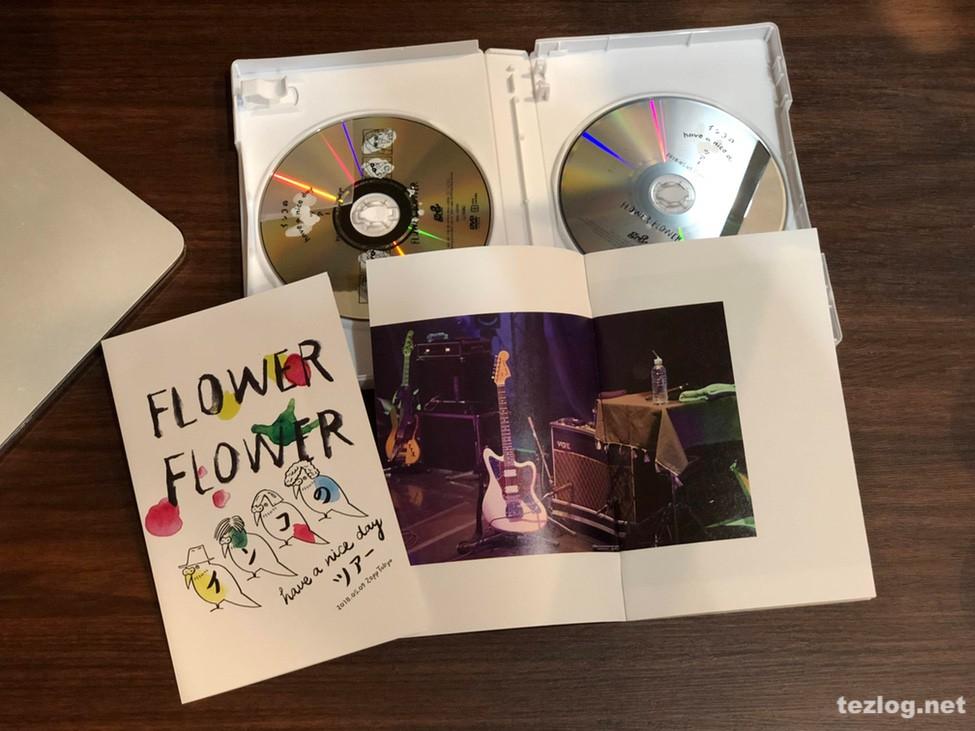 FLOWER FLOWER Live DVD インコの have a nice dayツアー 2018.05.09 Zepp Tokyo フォトブック