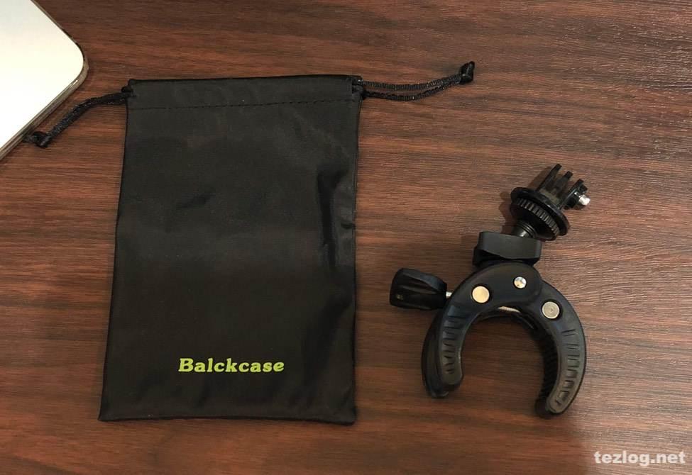 Balckcase 自転車用GoProホルダーと付属のポーチ