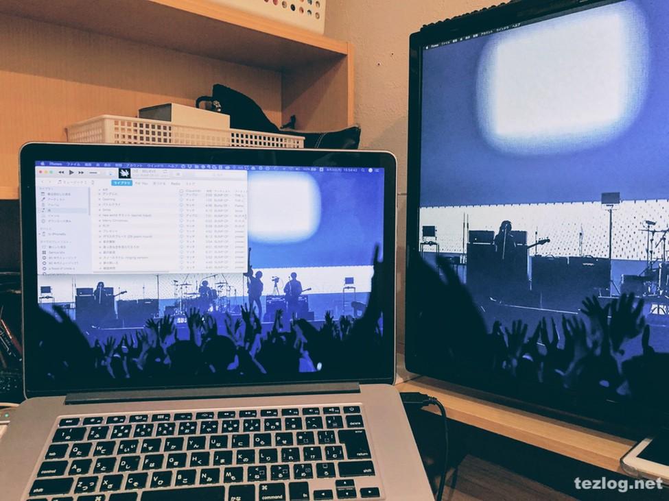 Macアプリ Spectableでウインドウを別のディスプレイに移動とリサイズ