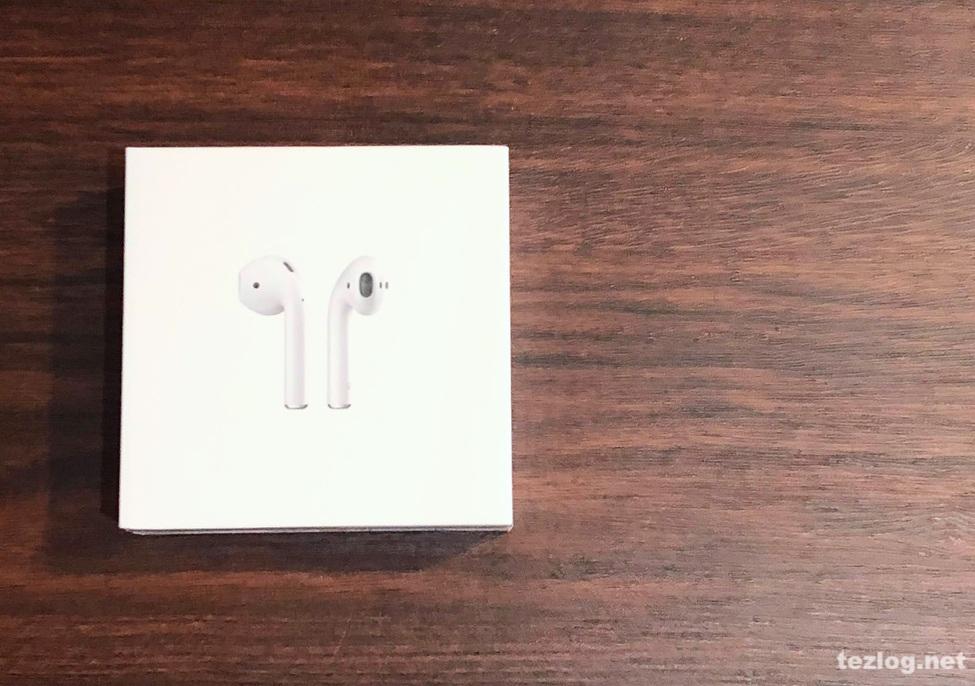 AirPods Appleの完全ワイヤレスイヤフォン