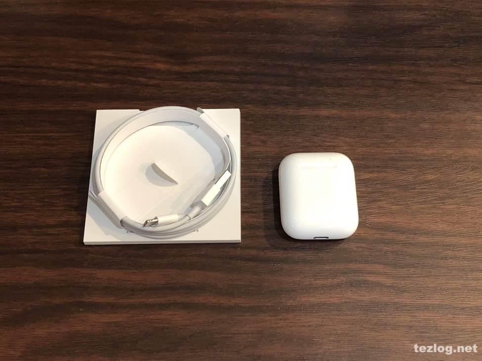 AirPods Appleの完全ワイヤレスイヤフォン 付属品