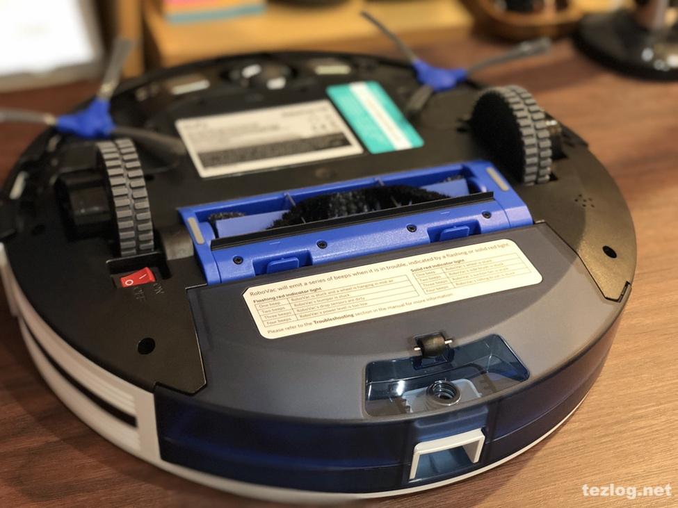 Eufy ロボット掃除機 RovoVac 11S 裏面 ダストボックス