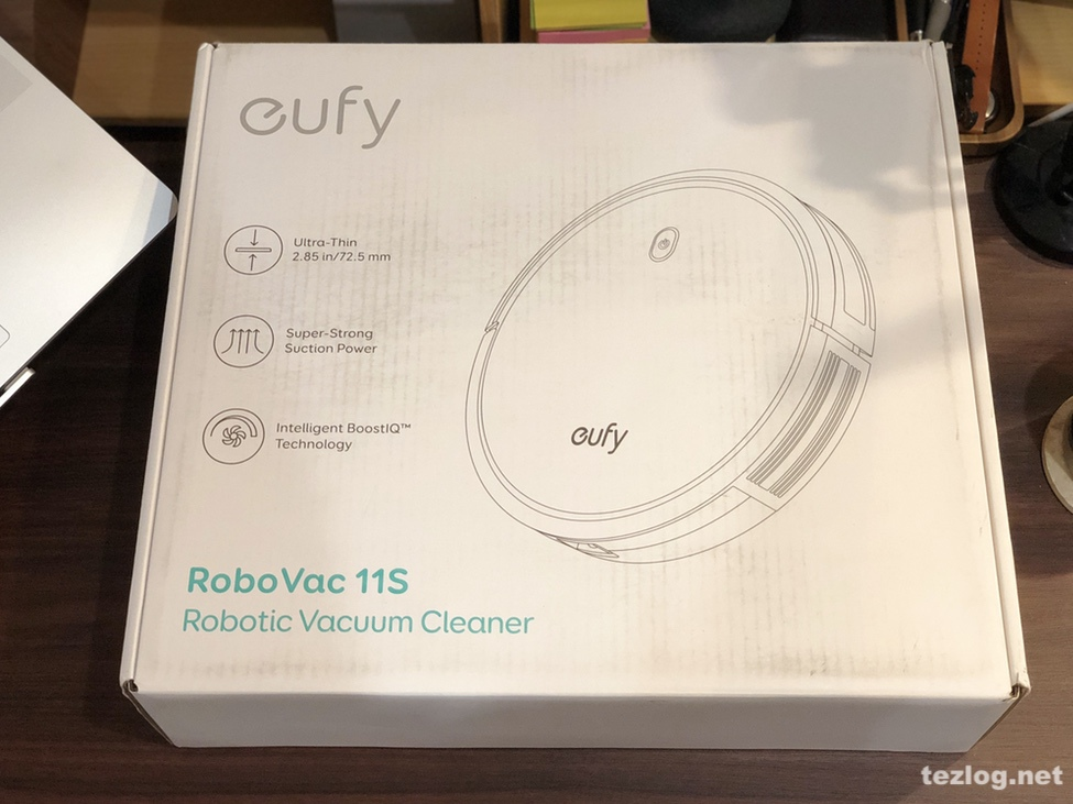 Eufy ロボット掃除機 RovoVac 11S パッケージ