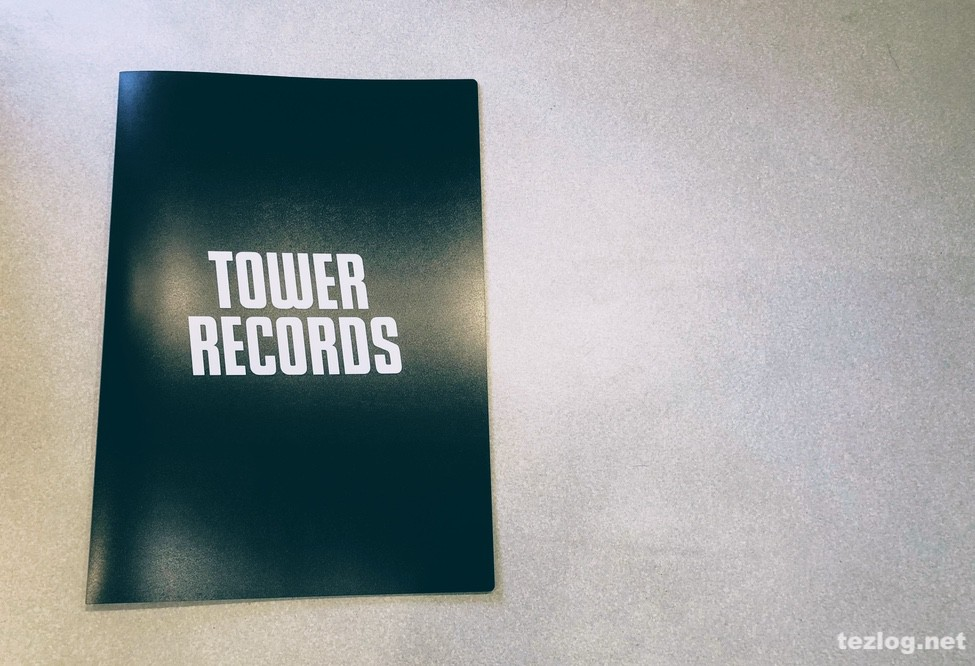 B2ポスターファイル TOWER RECORDS Ver.2 Black