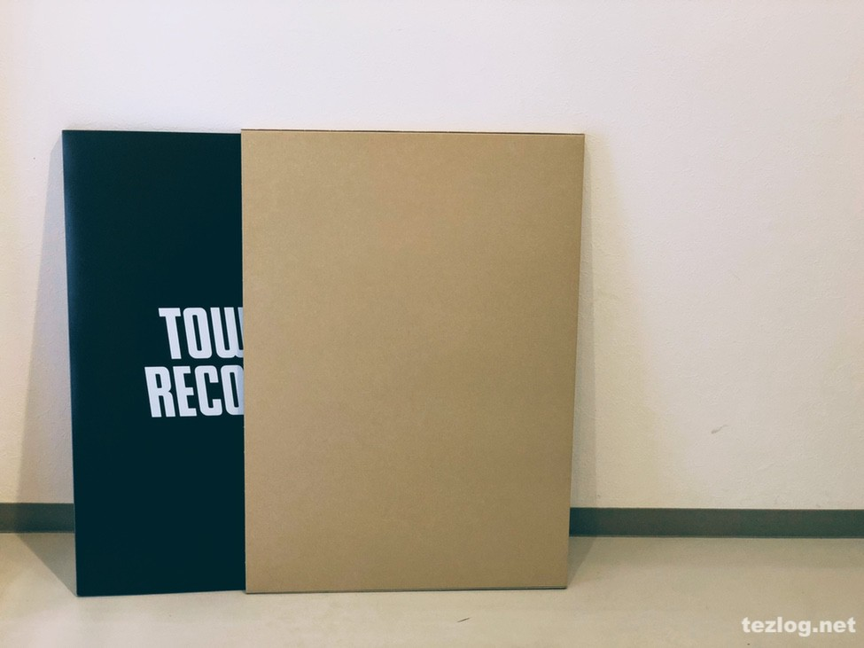 B2ポスターファイル TOWER RECORDS Ver.2 Black 収納ボックス