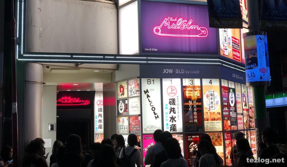 渋谷 Club Malcolm