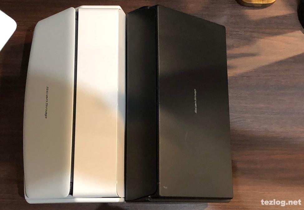 ScanSnap iX1500とiX500の比較
