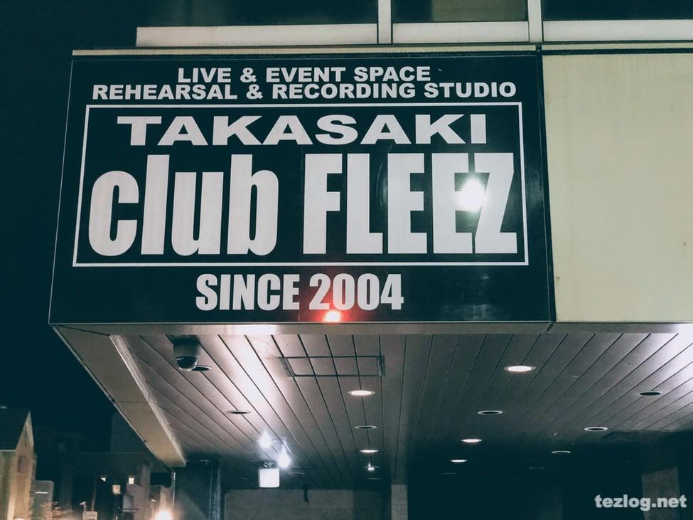 ストレイテナー My Name is Straightener TOUR 高崎club FLEEZ