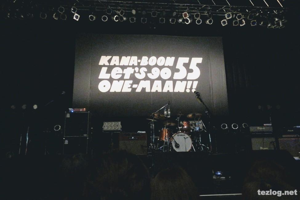 KANA-BOON ワンマンツアー Let's go QNE-MAAN Zepp Tokyo