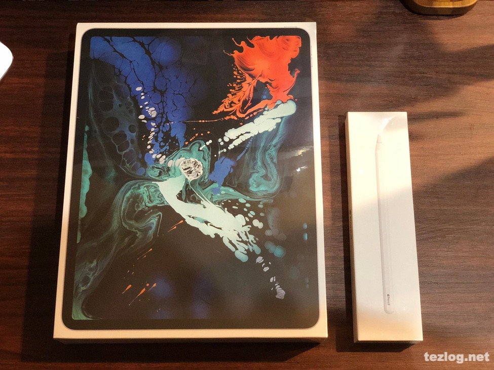 iPad Pro 12.9inti 第3世代 2018モデル とApple Pencil