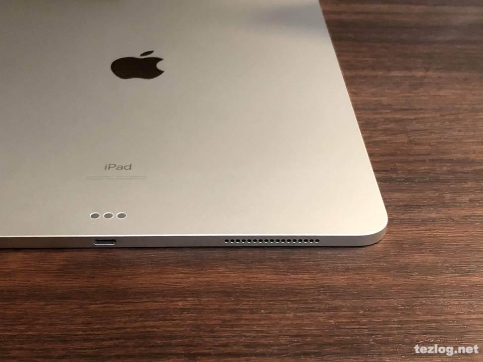 iPad Pro 12.9inti 第3世代 2018モデル 背面 スマートコネクター
