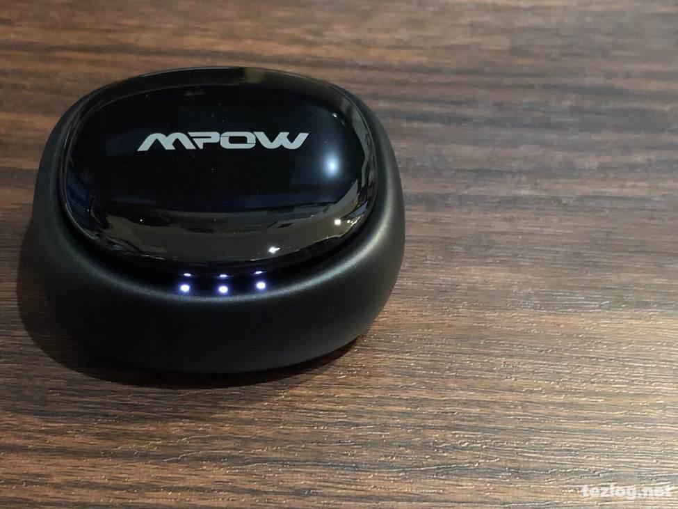 完全ワイヤレスイヤフォン Mpow T3 収納充電ケース