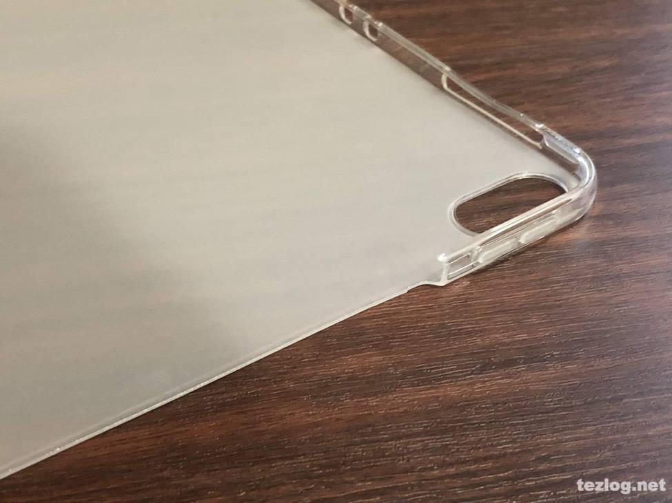 NUPO iPad Pro 12.9 インチ 2018 クリアケース Apple Pencil充電対応