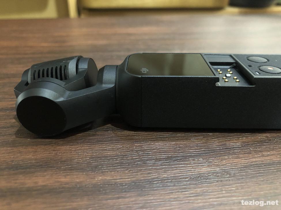 Osmo Pocket Lightningコネクタ接続部分