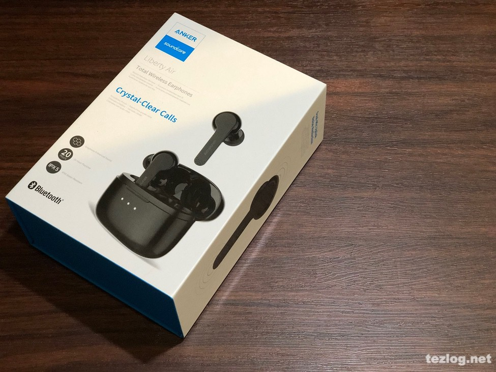 ANKER soundcore Liberty Air 完全ワイヤレスイヤフォン