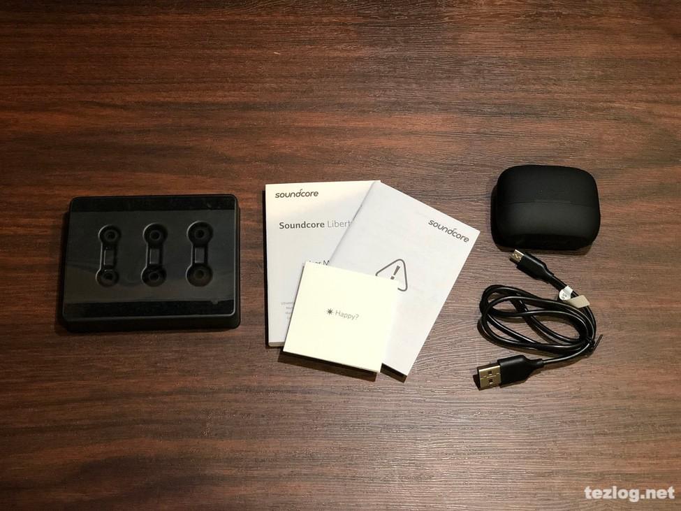 ANKER soundcore Liberty Air 完全ワイヤレスイヤフォン 付属品一式